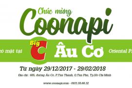 COONAPI THAM GIA GIAN HÀNG IM STARS- KOREA LIFE STYLE STORE WITH K-DRAMA TẠI BIG C ÂU CƠ