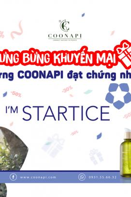 TƯNG BỪNG KHUYẾN MẠI - MỪNG COONAPI ĐẠT CHỨNG NHẬN I'M STARTICE CỦA CHÍNH PHỦ HÀN QUỐC