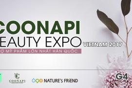 COONAPI THAM GIA TRIỂN LÃM MỸ PHẨM LỚN NHẤT HÀN QUỐC K-BEAUTY EXPO VIETNAM 2017