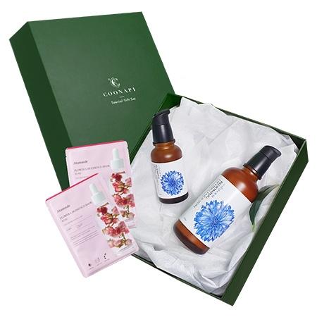 Set Quà Tặng Đặc Biệt Gồm Sữa dưỡng hoa thanh cúc All Natural + Tinh chất hoa thanh cúc All Natural + Hộp quà